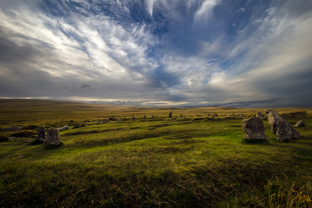 ©jennifer bailey 2015 scorhill stone circle, dartmoor