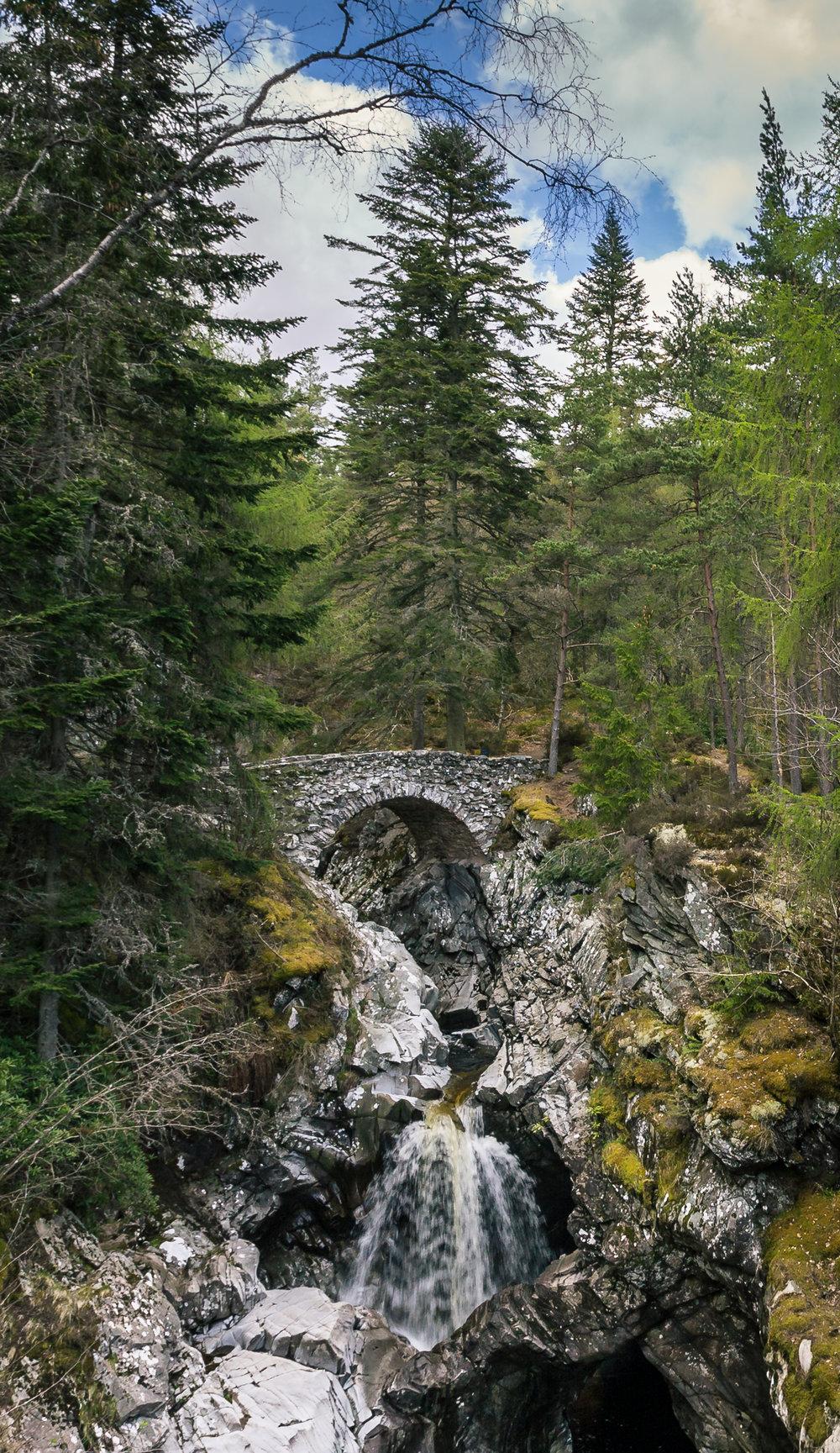 Bruar Falls Scotland 2015 © jennifer bailey