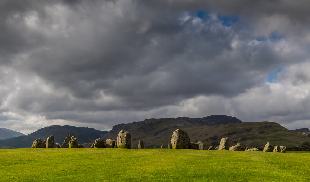 ©jennifer bailey 2018 castlerigg stone circle, cumbria