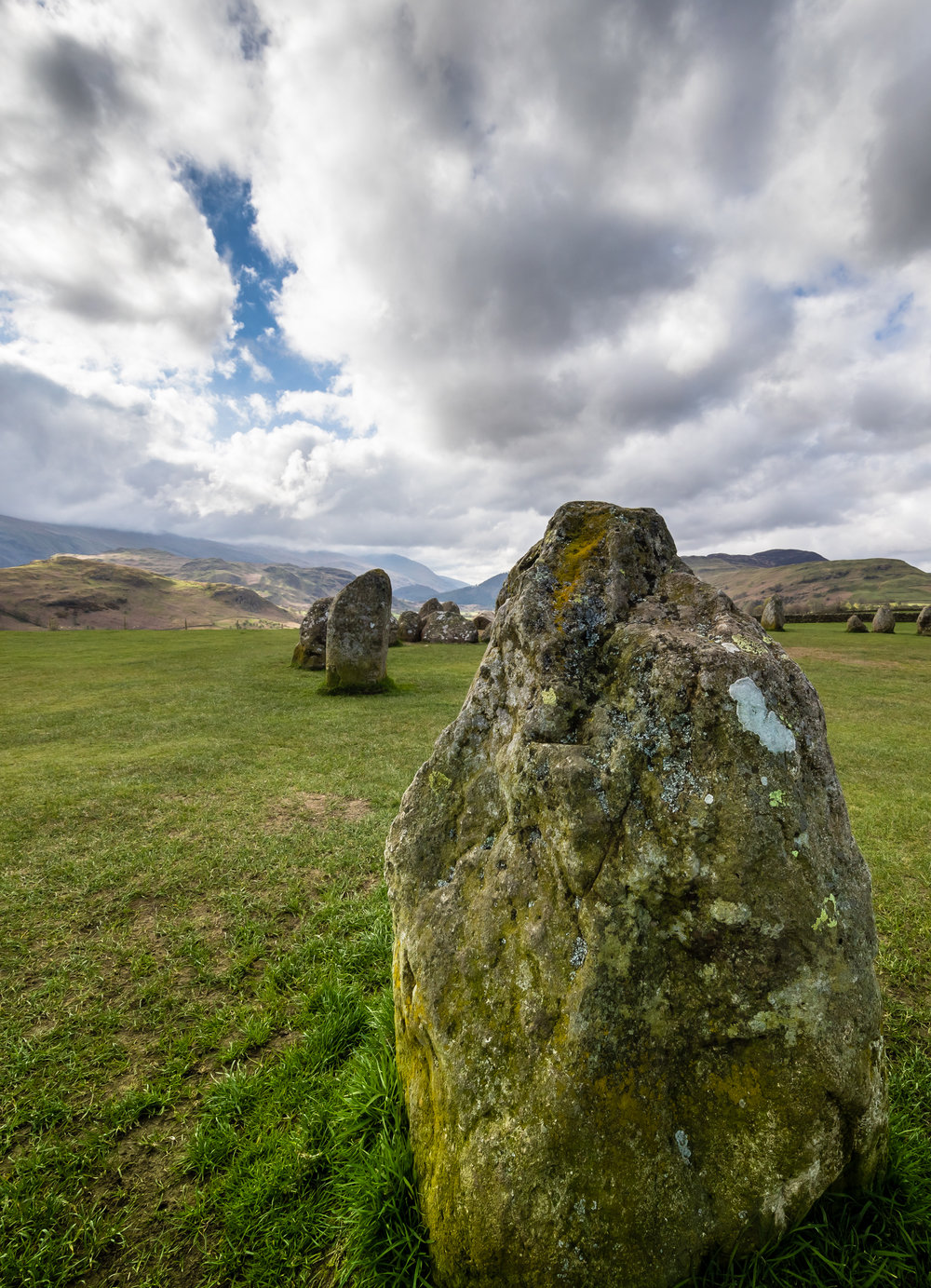 ©jennifer bailey 2018 castlerigg stone circle - cumbria
