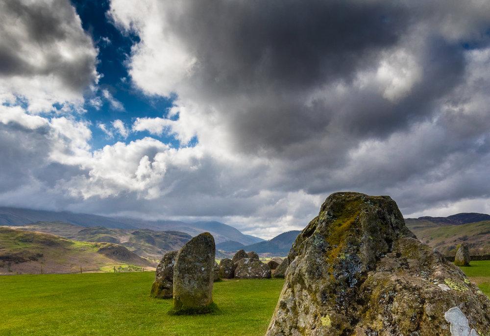 ©jennifer bailey castlerigg stone circle -- cumbria
