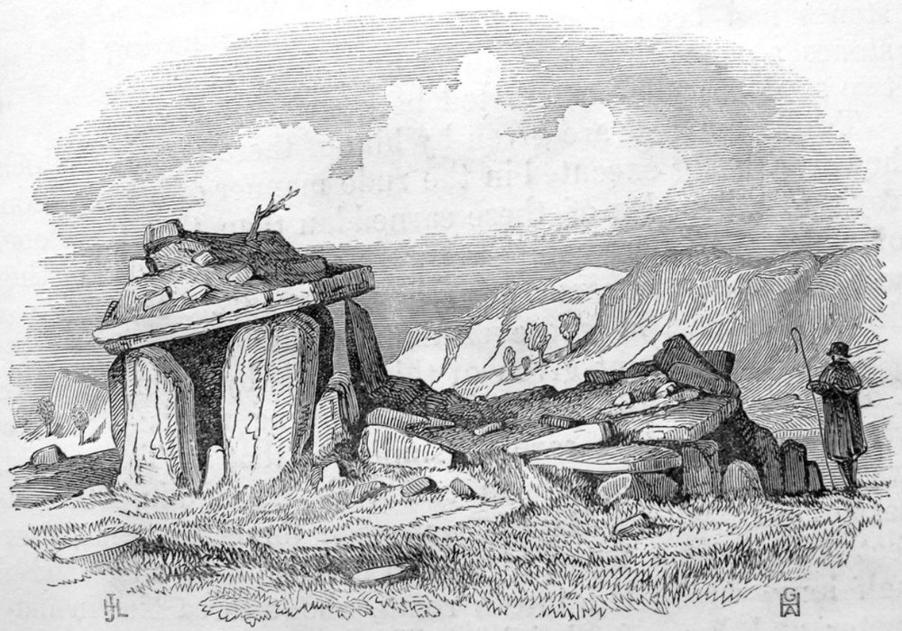 As published in Archaeologica Cambrensis, 1847 - Bryn Celli Ddu