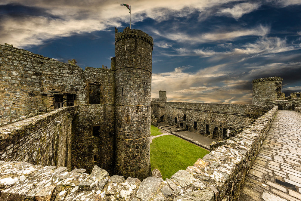 harlech castle ©jennifer bailey 2018