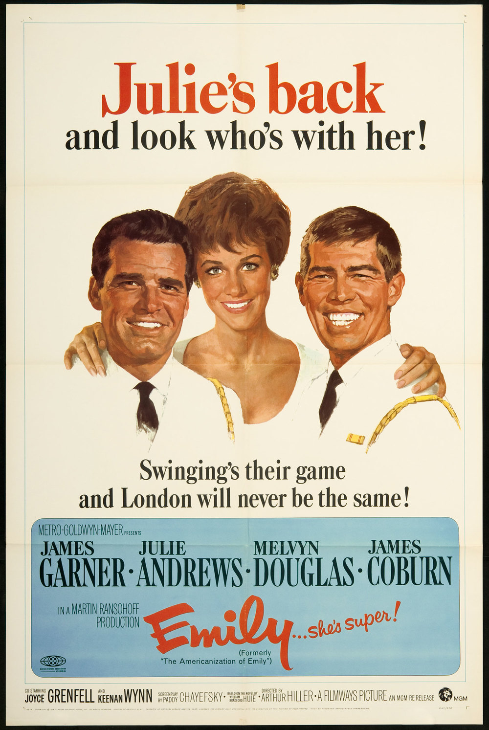 1964 (1967 re-issue), Arthur Hiller
