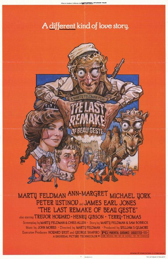 1977, Marty Feldman