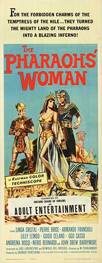 1960, Viktor Tourjansky (La donna del faraoni)