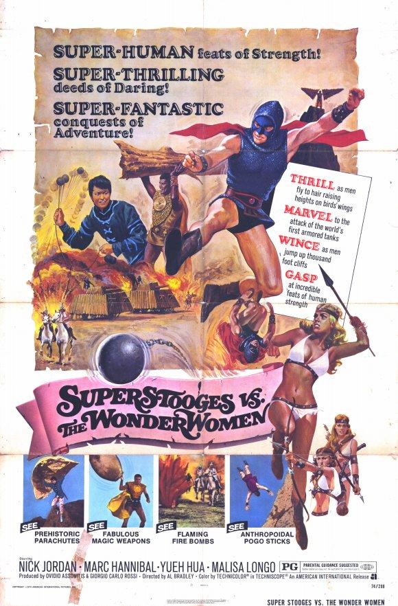 1974, Alfonso Brescia ( Superuomini, superdonne, superbotte )