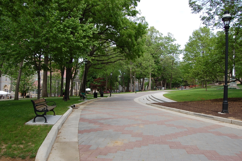 Lehigh University, Campus Walk
