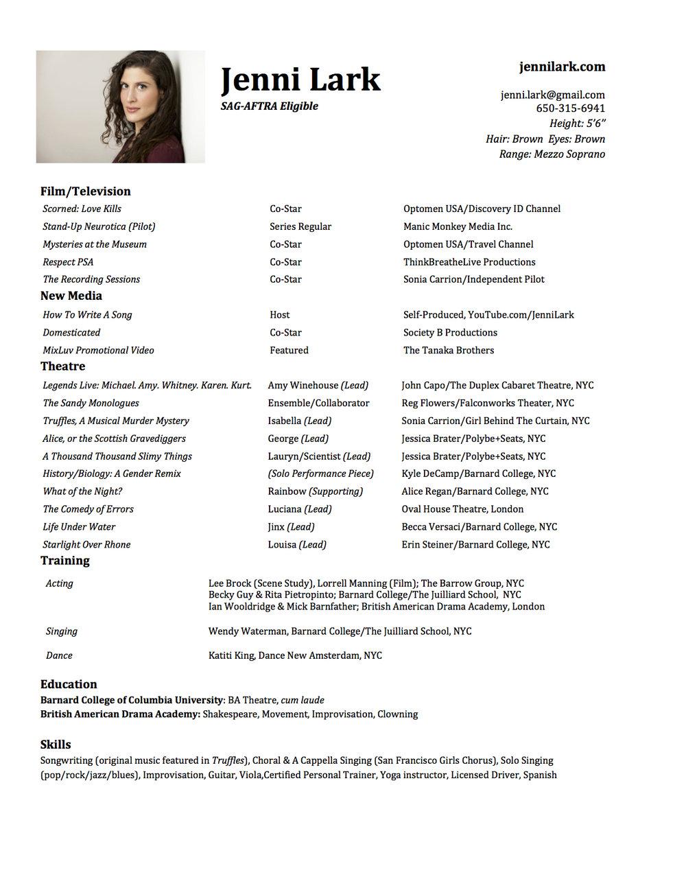 Jenni Lark acting resume 2017.jpg