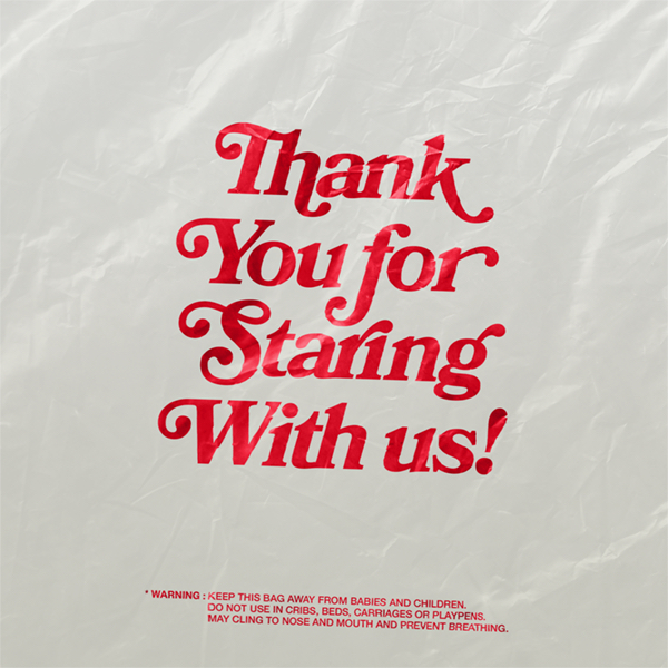 Thank You for Staring With us!