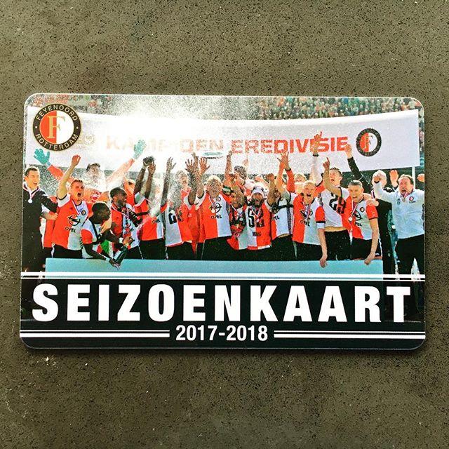 🔴⚪️⚫️ Seasonticket No. 25: 1993-2018 🔴⚪️⚫️ #Feyenoord #FeyenoordKampioen #loyalty #forbetterorworse