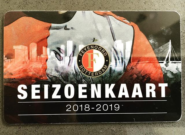 Since 1993, Season 26, here I come #feyenoord #feyenoordrotterdam #loyalty ❤️⚪️⚫️