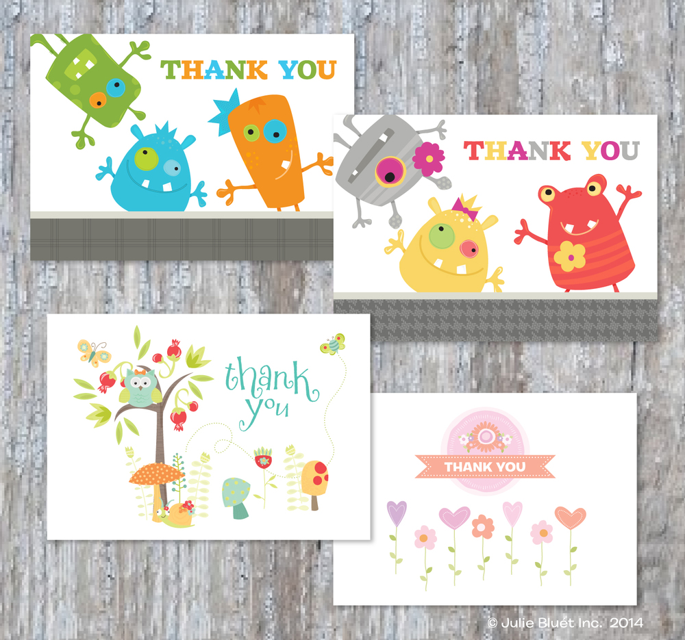 Baby and Children Note Cards