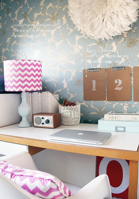 Fun and Girly Office Space