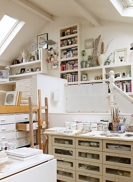 Studio in White