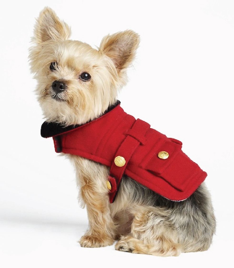Ralph Lauren Dog Coat