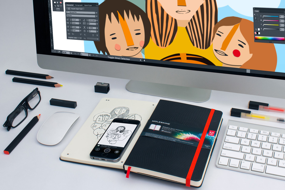 The Moleskine Smart Notebook