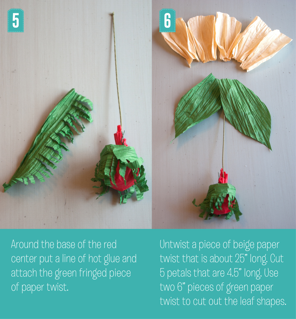 Christmas Poppy Steps 5 and 6