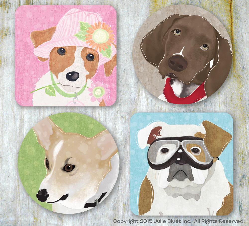 Barkley & Wagz Coasters