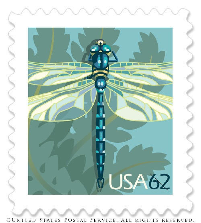 US Postage Stamp by Nancy Stahl