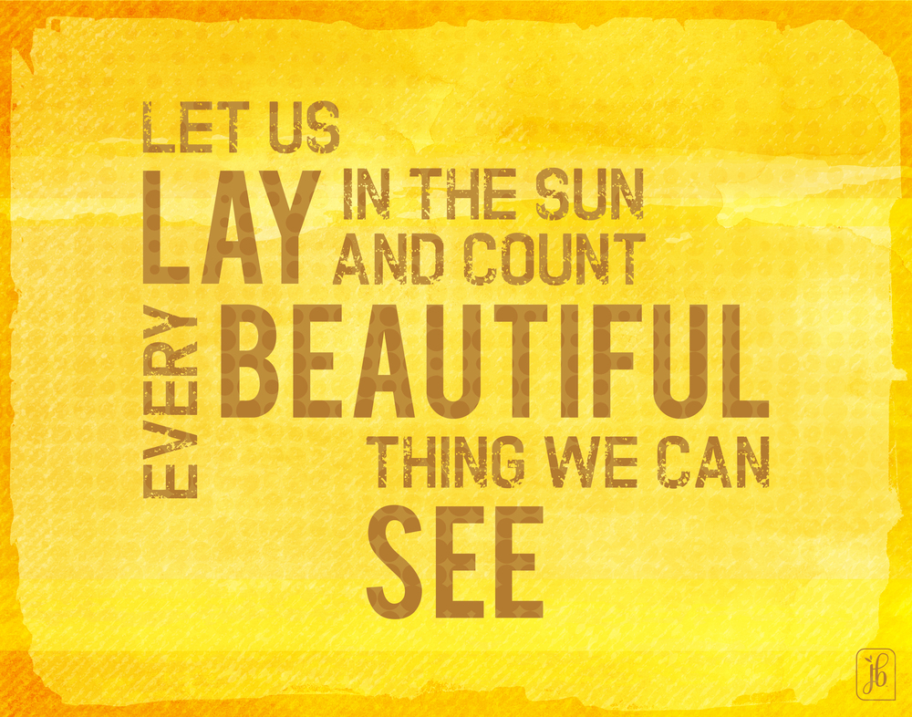 See the Beautiful Things Quote