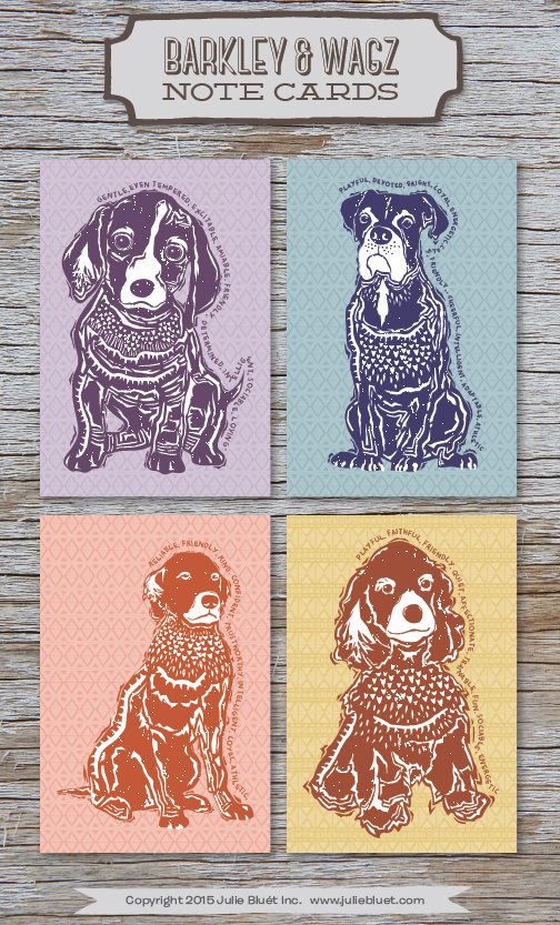 Barkley & Wagz Note Cards