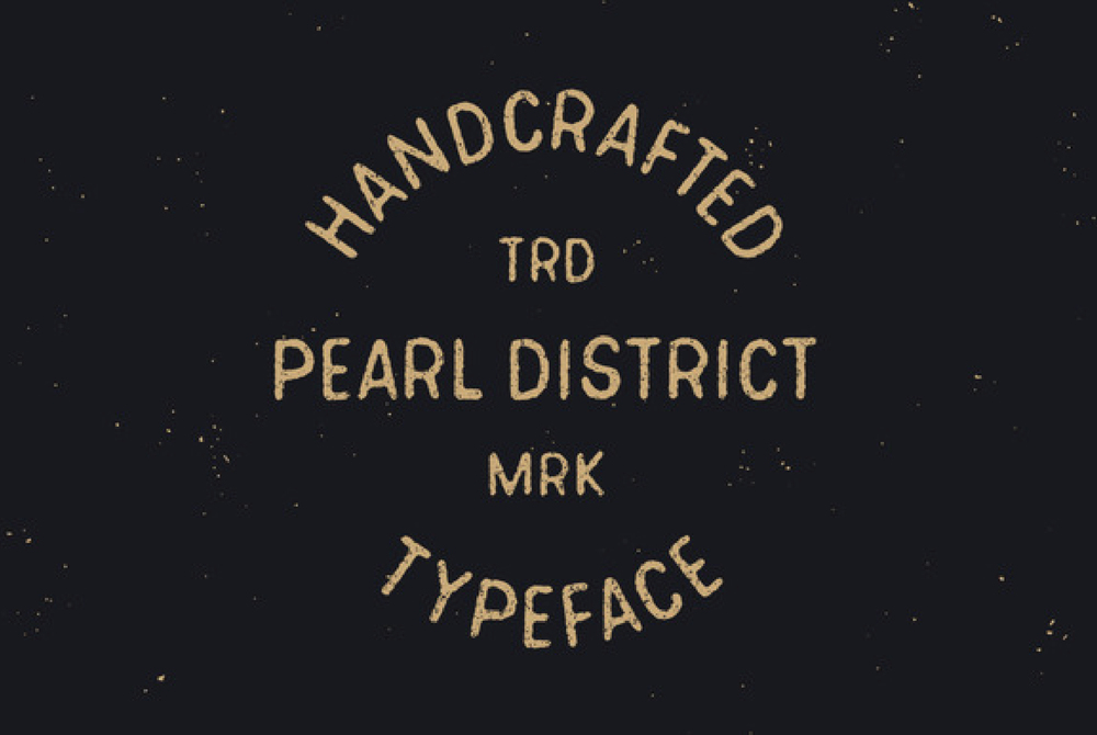 Pearl District Typeface