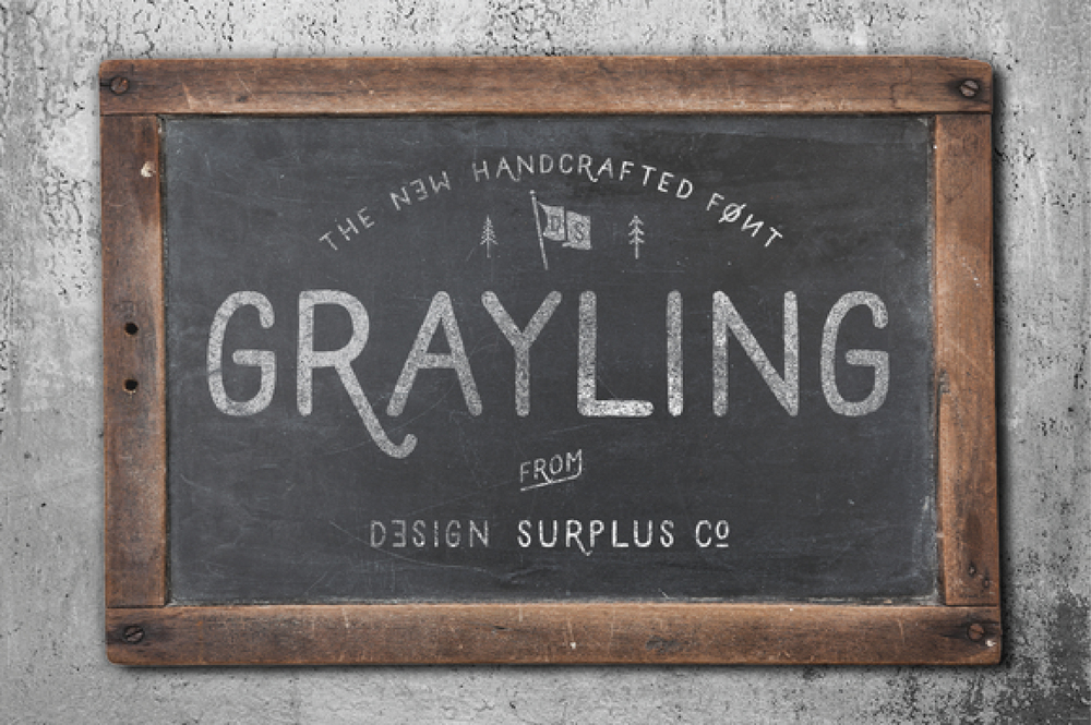 Grayling Typeface