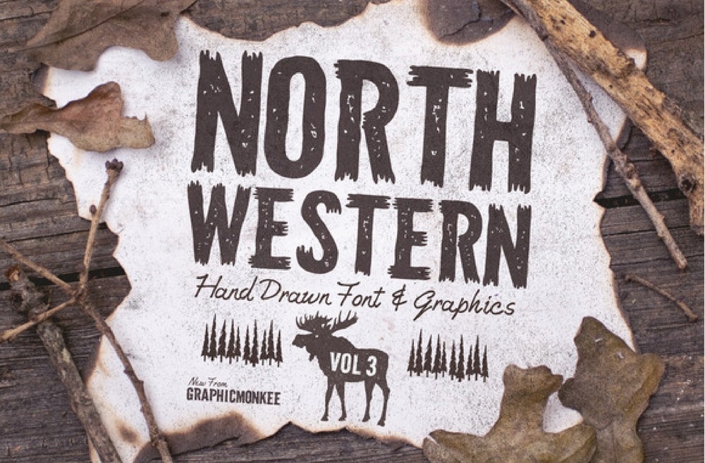 North Western Typeface