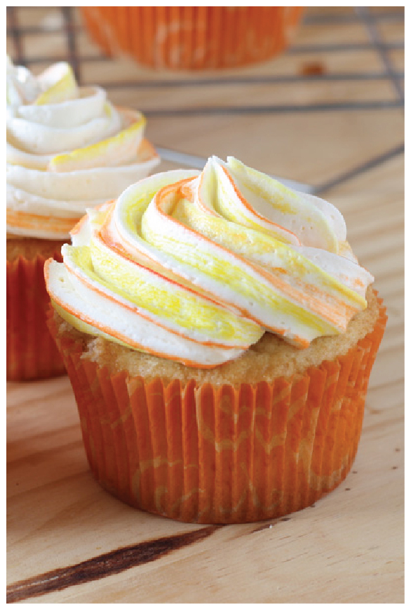 Mango Cupcakes from desserts.com