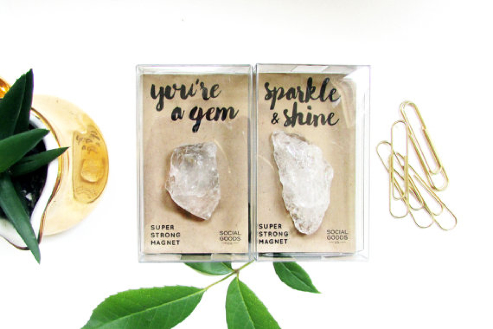 Gem Magnets from Social Goods