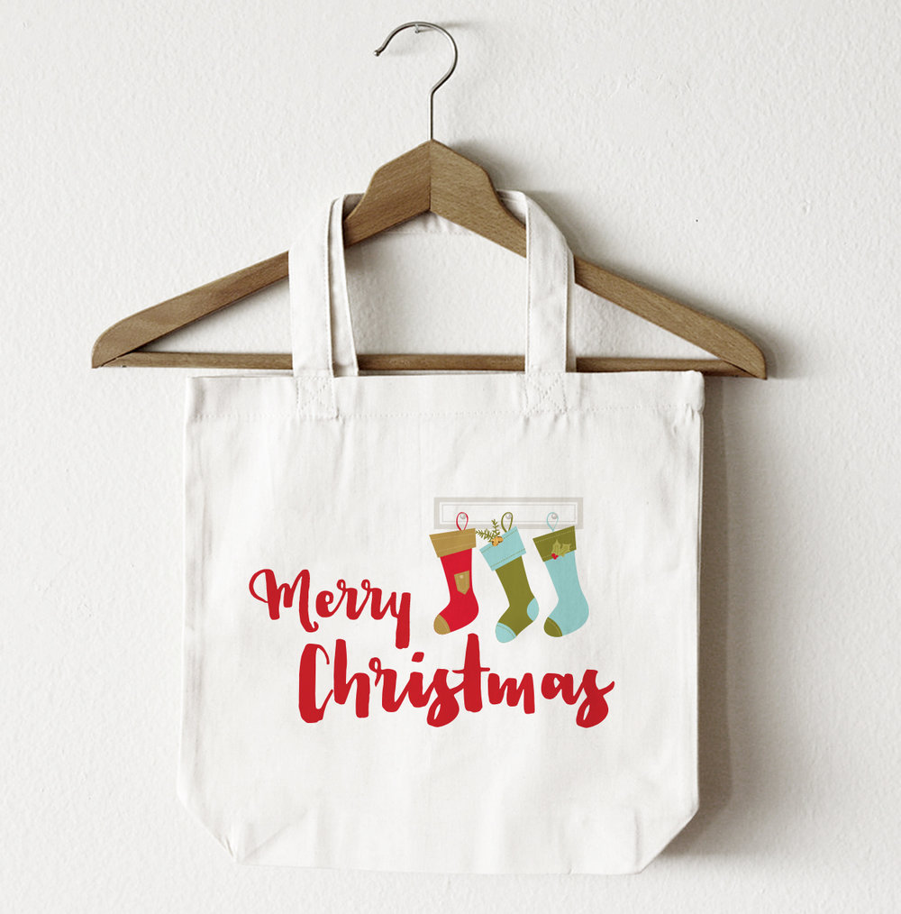 Merry Christmas Tote