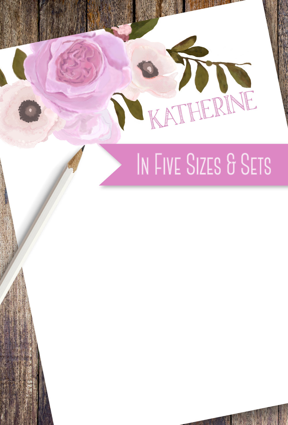 Rose Bouquet Note Pads