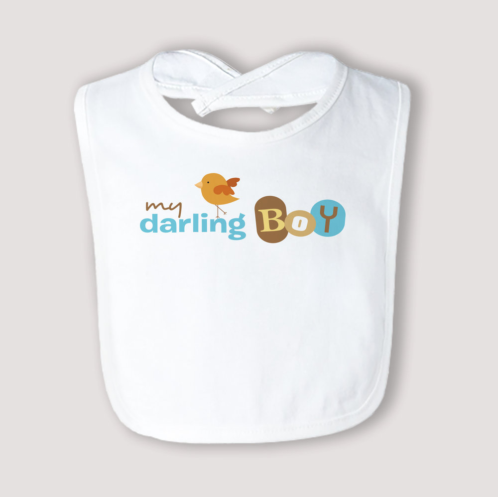 Darling Boy Bib