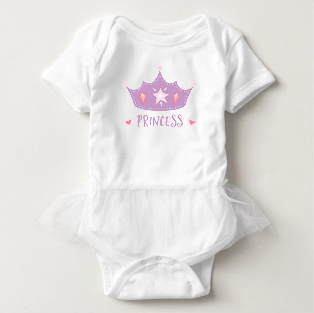 Princess Crown Bodysuit