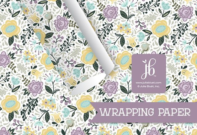 NEW Gift Wrap designs just added! Browse our collection at www.juliebluet.com or https://buff.ly/2IfuWqv #giftwrap #birthdaywrap #wrappingpaper #partypaper #stationerylove #etsyhandmade