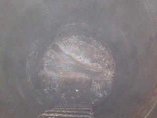 FOG in a sewer system (Courtesy City of London, ON)