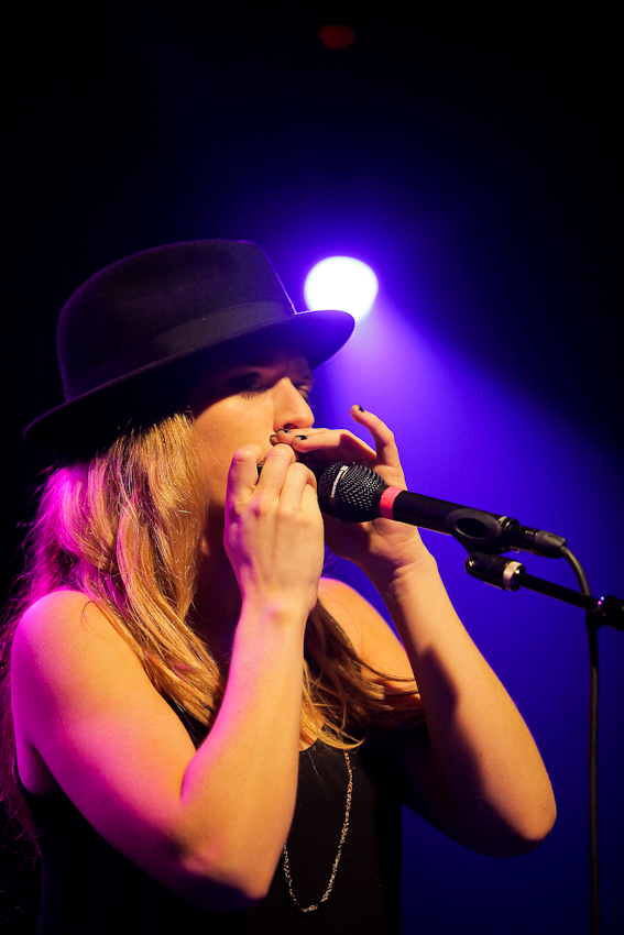 ZZ Ward performing at the Crocodile in Seattle.