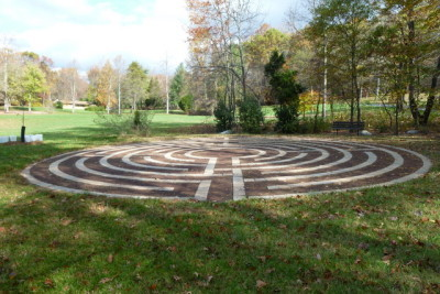 Labyrinth at Hallowood Retreat Center near Sugarloaf, MD
