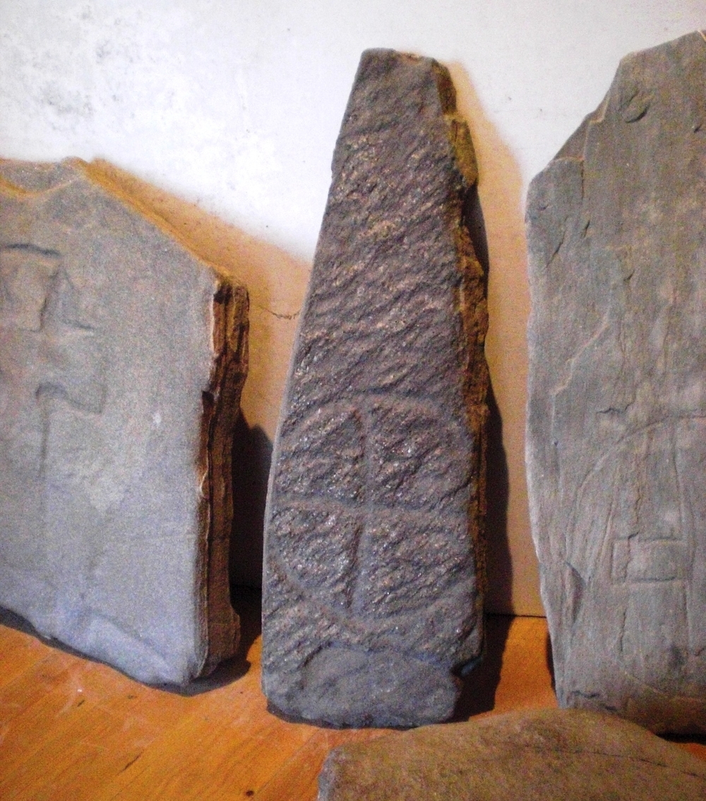 Gravestones from Iona