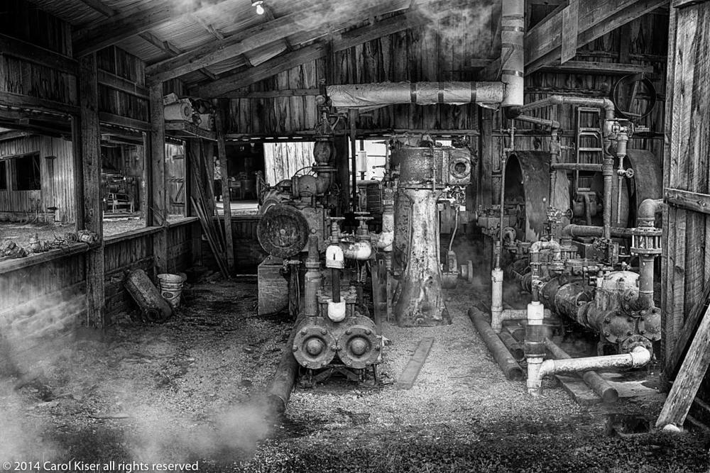 Steam powered machine shed, Elnora Indiana.jpg