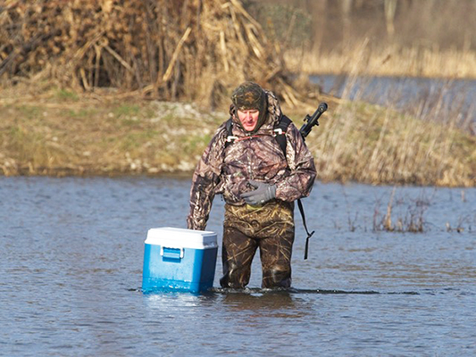 Bob wading to duck blind (2).jpg