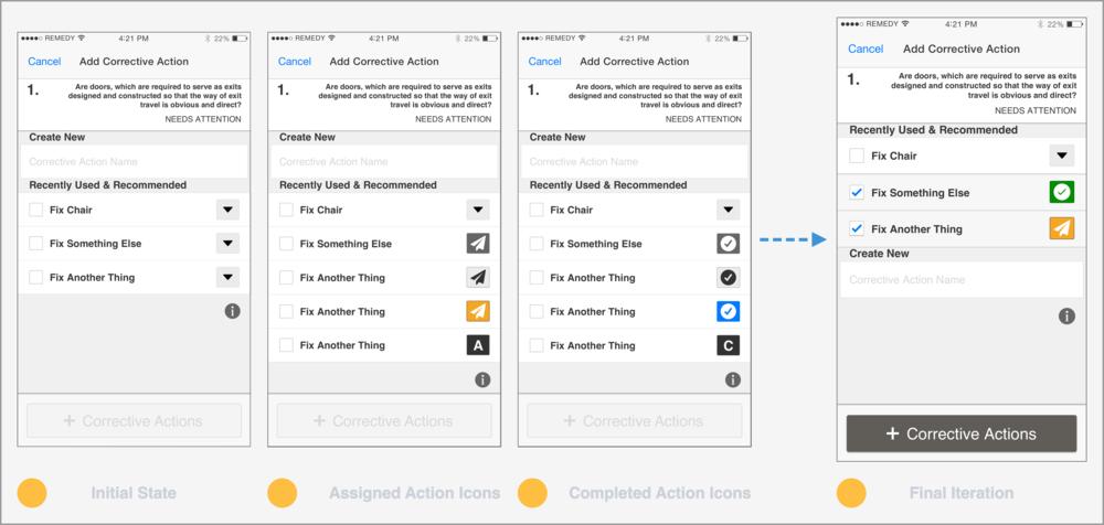 Testing several versions navigation layouts