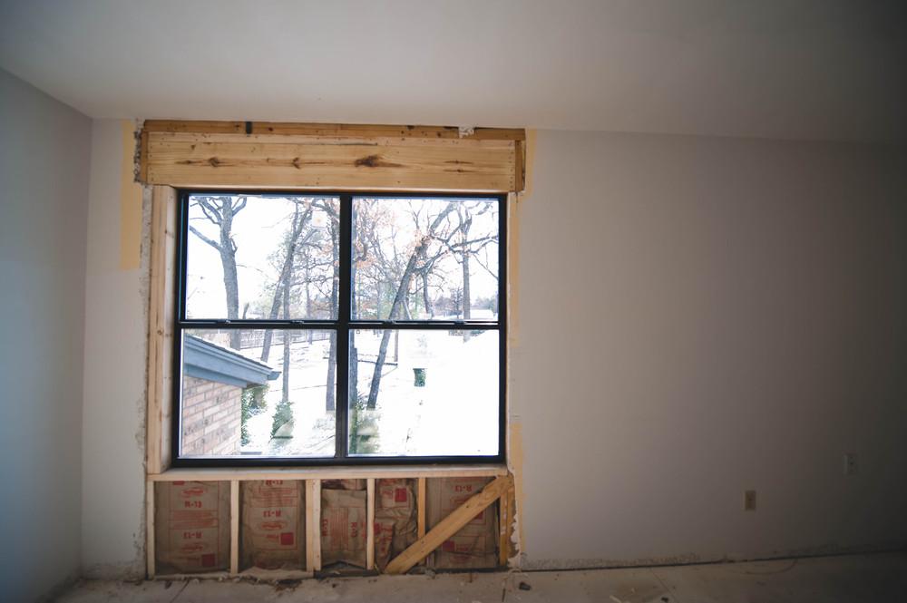 Ella's new window.