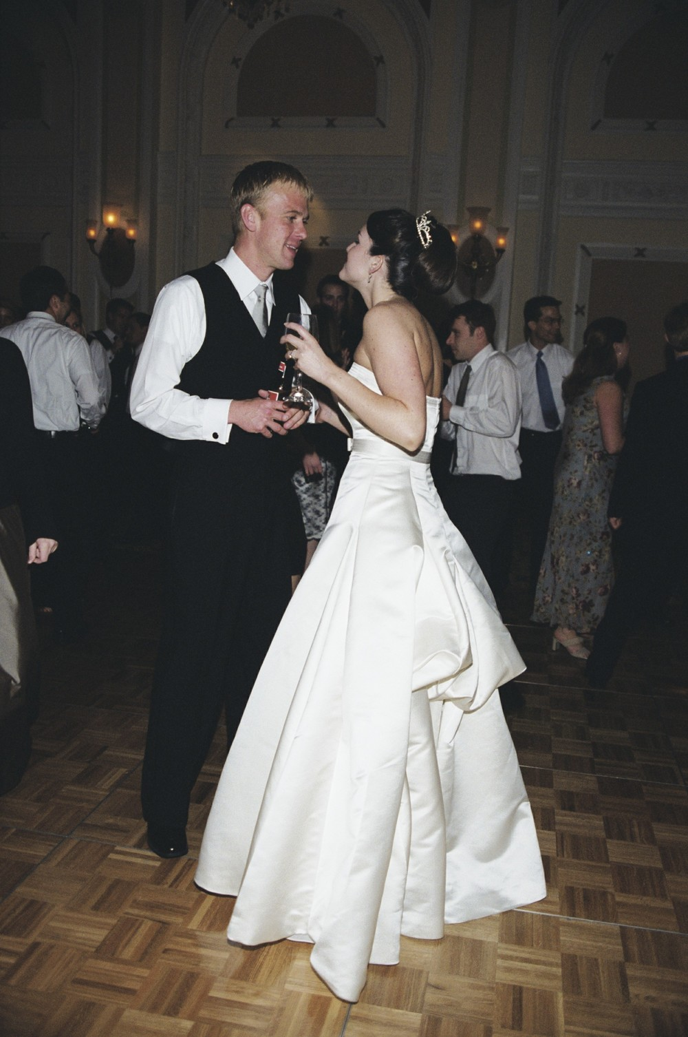 Less talking, more dancing. :D