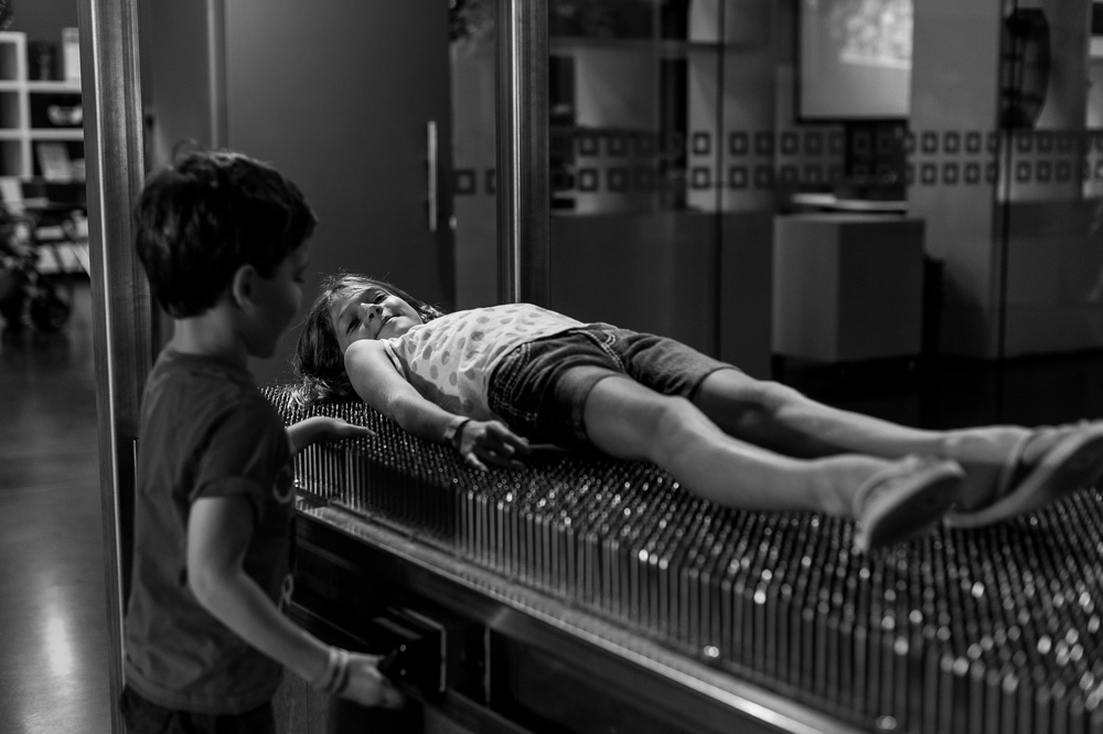 The bed of nails was hugely popular.