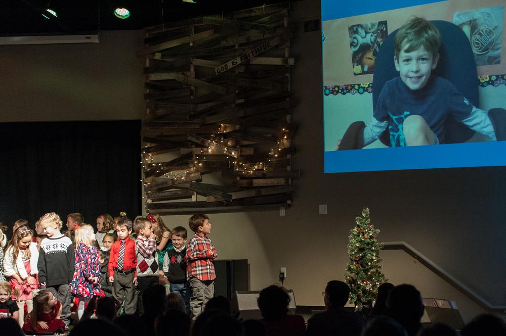 Michael's Christmas Program