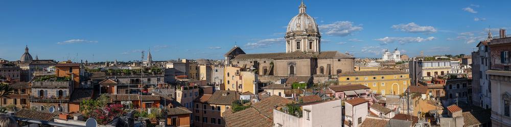 Hotel Campo dei Fiori's Rooftop View