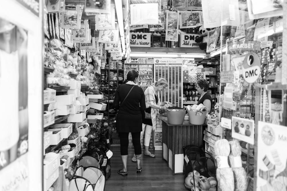 Yarn Shoppin'