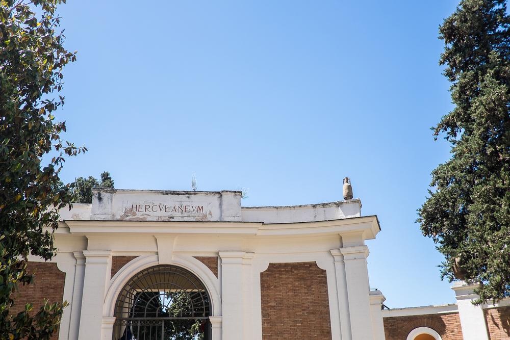 First Stop: Herculaneum